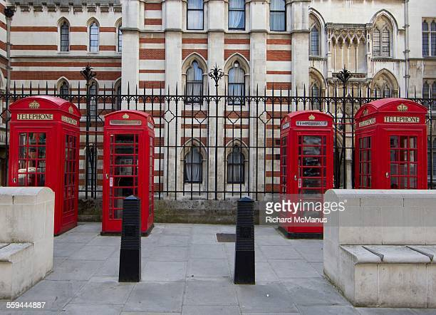 the telephone booth - the strand london stock pictures, royalty-free photos & images
