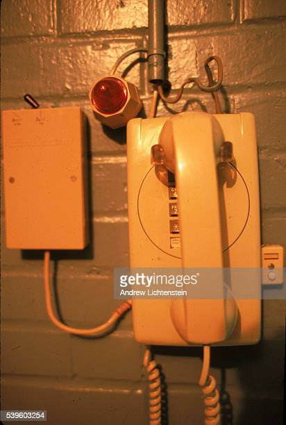 The telephone in the Texas death chamber used just in case a last minute pardon is issued by the Governor or a judge calls to issue a stay of the...