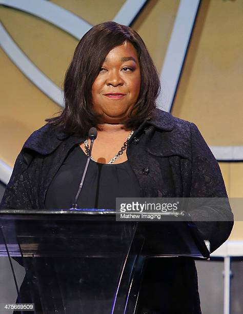 The Television Showman of the Year Award recipient Shonda Rhimes onstage at the 51st Annual ICG Publicists Awards held at the Beverly Wilshire Four...