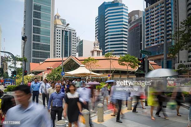 、Telok Ayer 市場,シンガポール