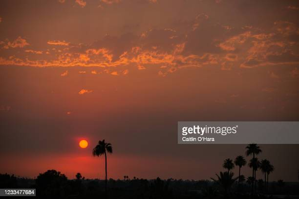 The temperature remained at 110 degrees Fahrenheit at sunset on June 15, 2021 in Phoenix, Arizona.The National Weather Service has issued an...