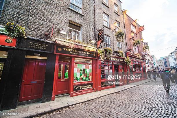 o temple bar em dublin - dublin república da irlanda - fotografias e filmes do acervo