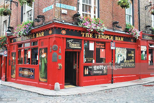 the temple bar - temple bar dublin stock photos and pictures