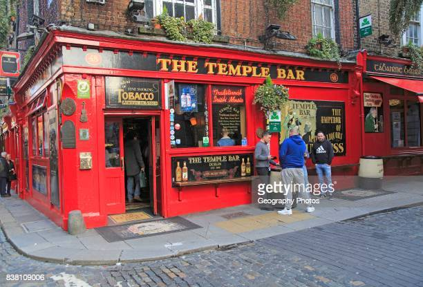 The Temple Bar traditional pub city of Dublin Ireland Irish Republic