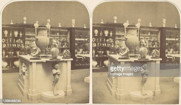 The Temple Collection of Antiquities, 1850s. Artist Roger Fenton.