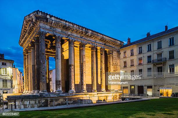 The Temple de Auguste et de Livie
