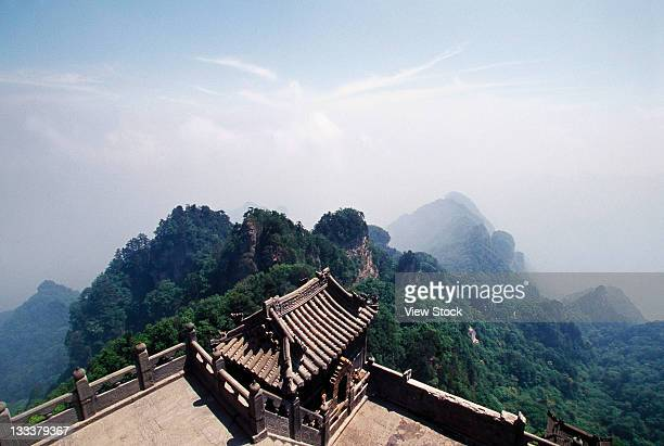 The Temple In Wudang Mountains,Hubei,China