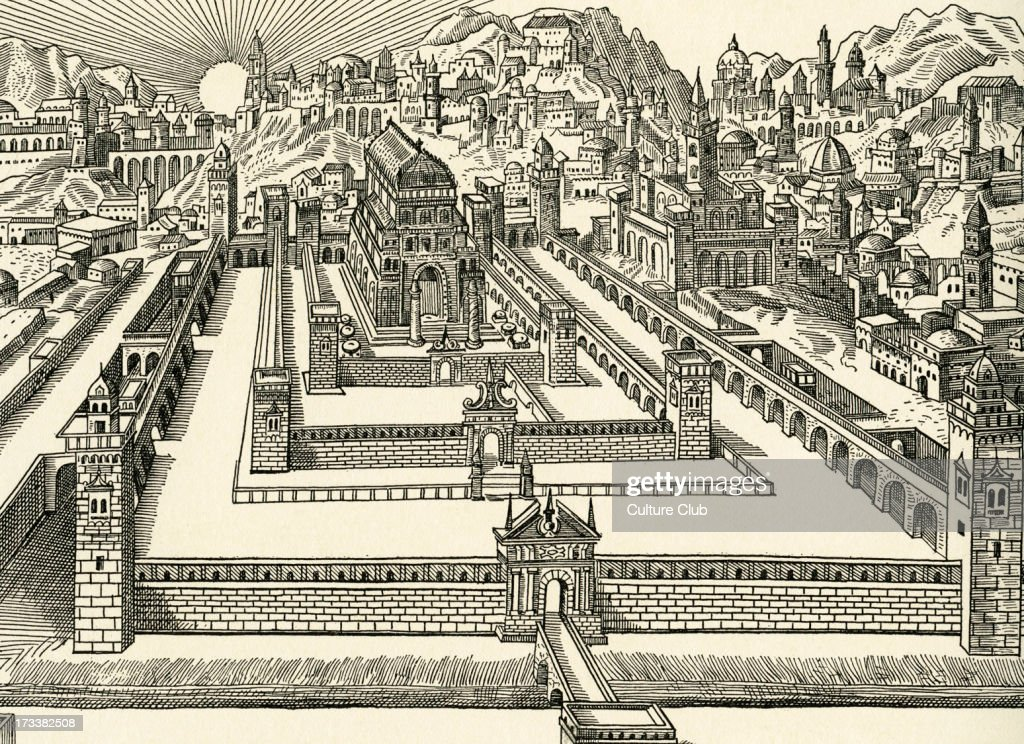 Line Drawing Jerusalem : The temple jerusalem pictures getty images