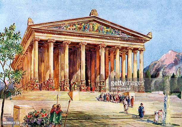 The Temple of Artemis Ephesus Turkey 19331934 From Wonders of the Past volume II 19331934