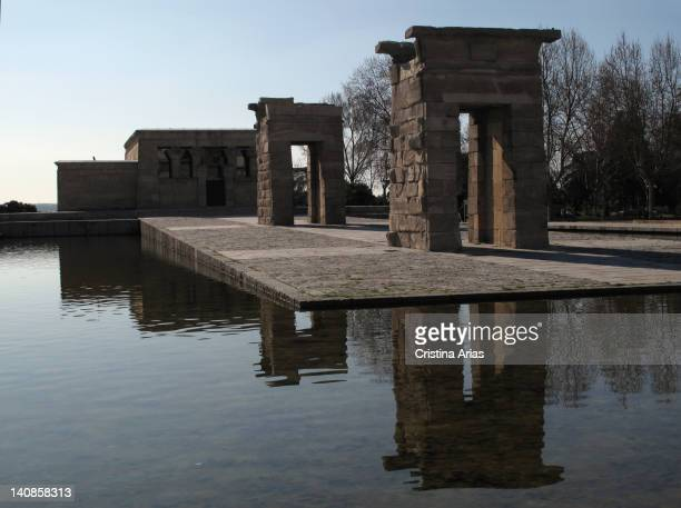 The Temple of Debod an ancient Egyptian temple that the Egyptian state donated to Spain in 1968 as a sign of gratitude for the help provided by Spain...