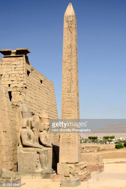 The Temple of Luxor, Luxor, Egypt