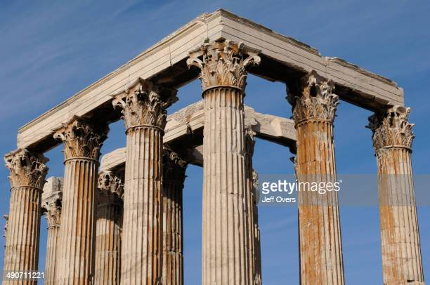 The Temple of Olympian Zeus was one of the largest temples of the ancient world It was begun in the 6th century BC and not compleated until Hadrian...