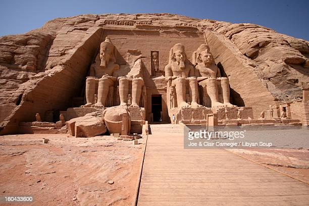 The Temple of Ramesses II, Abu Simbel, Egypt.