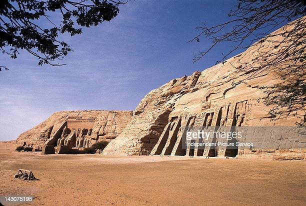 The Temple of Ramesses II and the Temple of Nefertari and Hathor at Abu Simbel Egypt