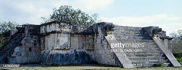 The Temple of the Planet Venus in Chichen Itza Yucatan Mayan Civilization 11th Century