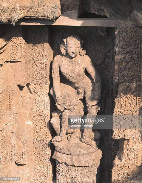 The Temple of the Sun complex at Konarak India Hindu 13th c