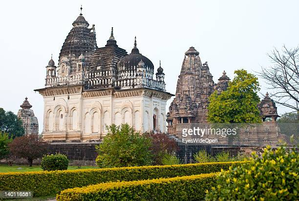 The Temples of Khajuraho are famous for their erotical figures who are making love in different Kamasutra positions on February 1, 2012 in Khajuraho,...