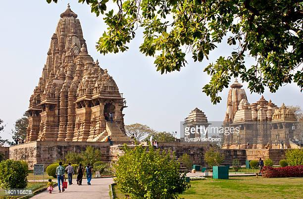 The Temples of Khajuraho are famous for their erotical figures who are making love in different Kamasutra positions on February 1 2012 in Khajuraho...