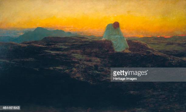 'The Temptation in the Wilderness' 1898 Jesus Christ in the desert
