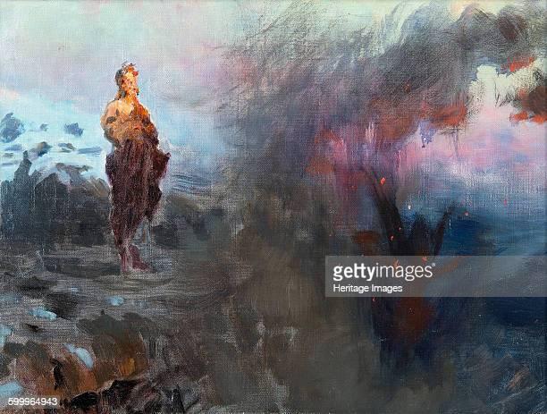 The Temptation of Christ Private Collection Artist Repin Ilya Yefimovich