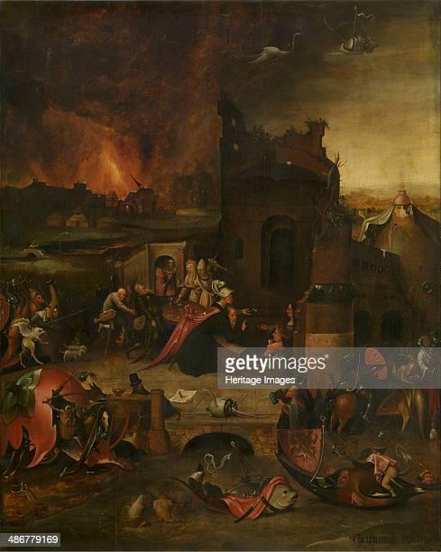 The Temptation of Saint Anthony 16th century Artist Bosch Hieronymus