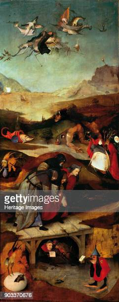 The Temptation of Saint Anthony Found in the Collection of Museu Nacional de Arte Antiga Lisbon