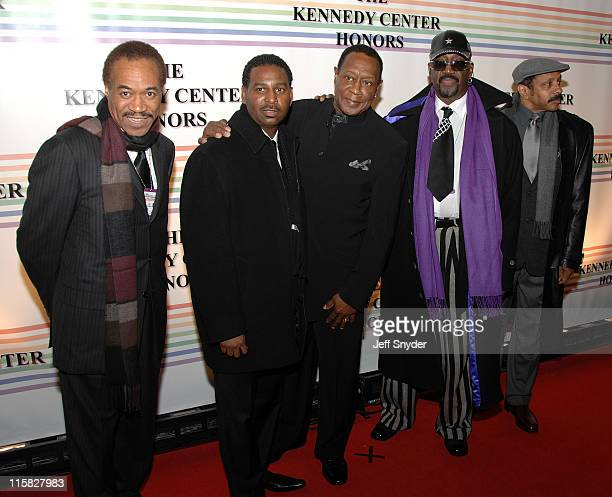 The Temptations during 29th Annual Kennedy Center Honors at John F Kennedy Center for the Performing Arts in Washington DC United States