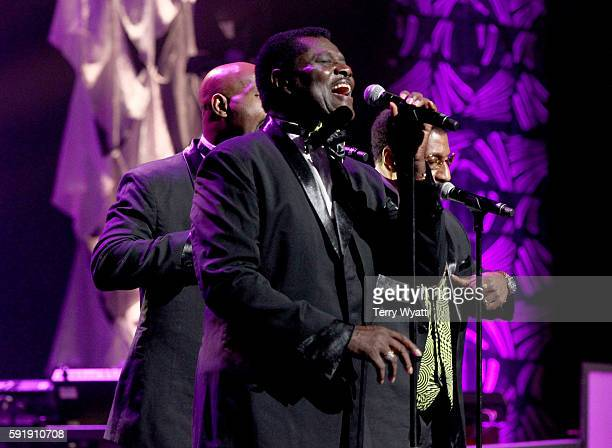 The Temptations featuring Dennis Edwards performs during NMAAM 2016 Black Music Honors on August 18, 2016 in Nashville, Tennessee.