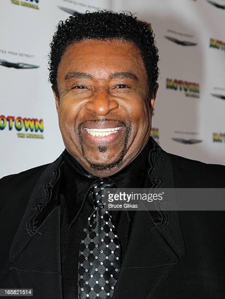 """The Temptations' lead singer Dennis Edwards attends the """"Motown: The Musical"""" Motown Family Night at the Lunt-Fontanne Theatre on April 5, 2013 in..."""