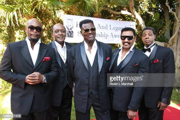 The Temptations Review attend the 29th Annual Heroes And Legends Awards at Beverly Hills Hotel on September 23 2018 in Beverly Hills California