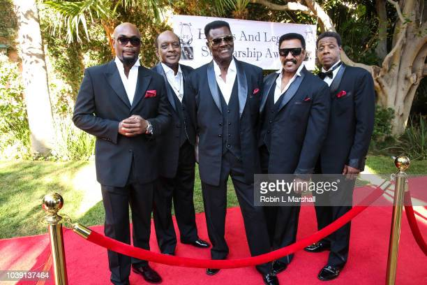 The Temptations Review attends the 29th Annual Heroes And Legends Awards at Beverly Hills Hotel on September 23 2018 in Beverly Hills California