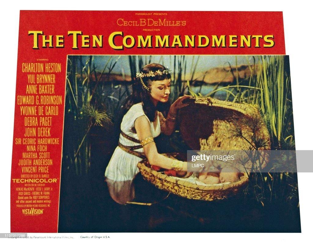 The Ten Commandments : Fotografía de noticias