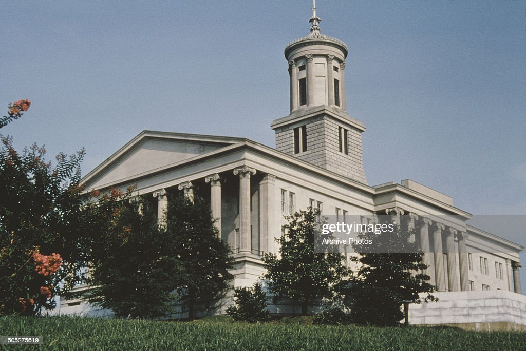 Tennessee State Capitol, Nashville : News Photo