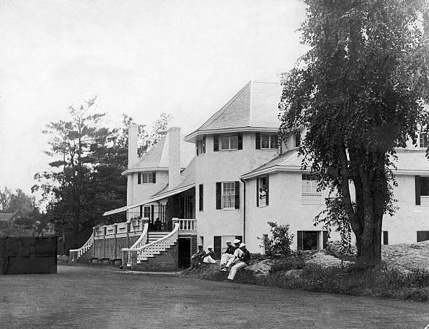 the clubhouse at chestnut hill around 1920 1930 pictures getty images