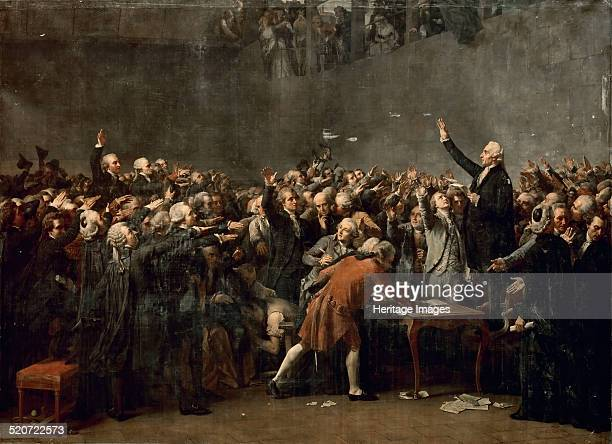 The Tennis Court Oath on 20 June 1789 Found in the collection of Musée de l'Histoire de France Château de Versailles