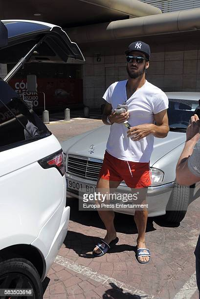 The tennis player Feliciano Lopez is seen on July 25 2016 in Madrid Spain