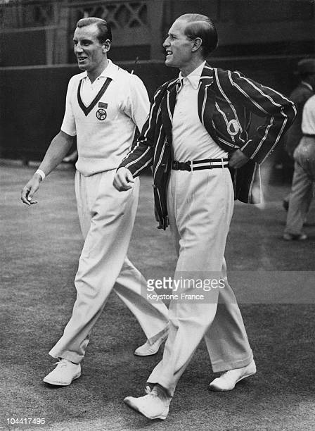 The tennis players Fred Perry and the German Gottfried von Cramm will compete in the championship final of Wimbledon on July 2, 1936.