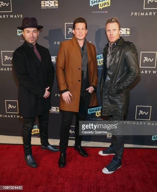 The Tenors attend Primary Wave 13th Annual PreGRAMMY Bash at The London West Hollywood on February 9 2019 in West Hollywood California