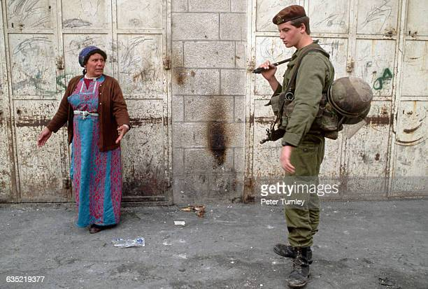 The tension between Palestinians and the occupying Israeli forces is a part of everyday life in Palestine