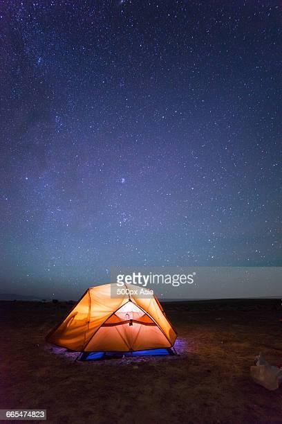 The Tent near Hala Lake in Qinghai