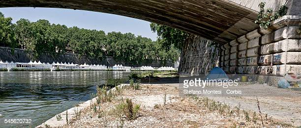 The tent of Alessia Pannachioli and Massimo Galioto lies just under the Ponte Garibaldi in the heart of Rome around a 15 minute walk from the Piazza...
