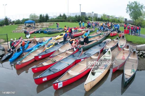 The tenth annual Amazing Bronx River Flotilla organized by the Bronx River Alliance The original plan called for a trip from 219th street but this...
