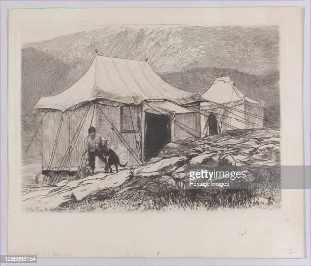 The Tents 1880 Artist Hubert von Herkomer
