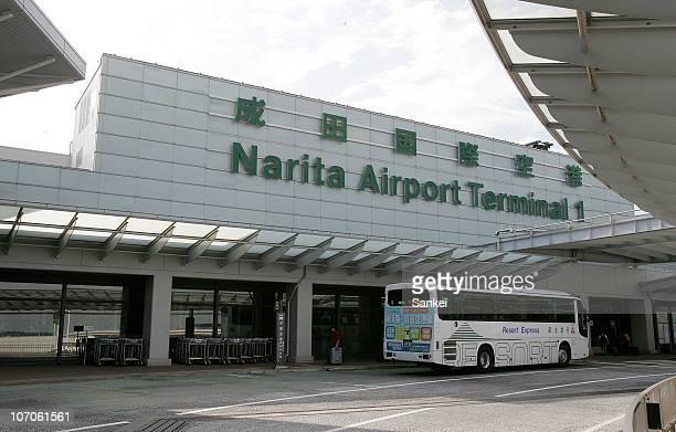 The Terminal 1 of Narita International Airport is seen on October 10 2009 in Narita Chiba Japan