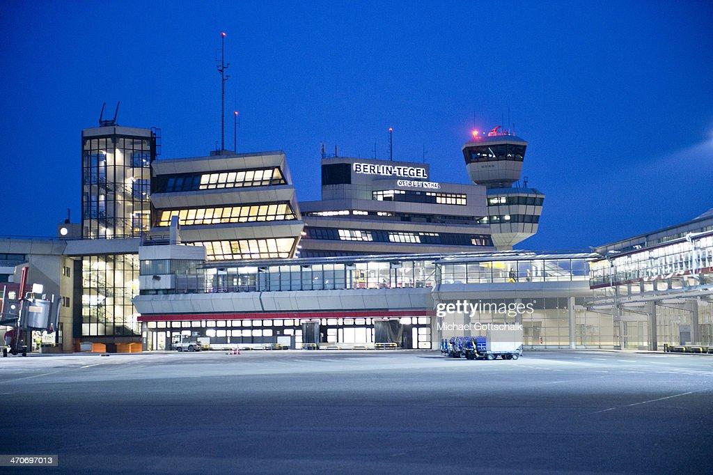 Airport Berlin Tegel : News Photo