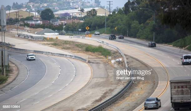 The terminus of Interstate 710 at Valley Blvd in Alhambra Calif on May 24 2017