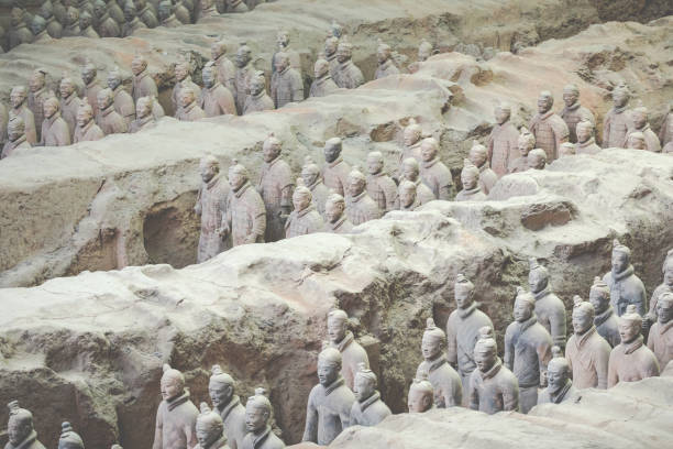 the mystery of the tomb of shi huangdi essay Mausoleum of qin shi huangdi located at lintong in shaanxi province, the mausoleum of the first emperor, shi huangdi of the qin clan (reigned 246-210 bce ), is the site of one of greatest archaeological finds, in terms of physical content and historic importance.