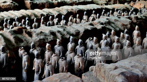 The Terra-cotta Warriors, Xian City, China