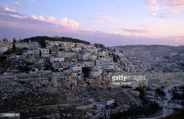 the territory of palestine beyond the west bank and gaza strip - west bank stock pictures, royalty-free photos & images