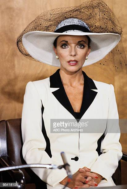 DYNASTY 'The Testimony' Season One 4/20/81 Blake's first wife Alexis Carrington was called to the stand at her former husband's trial